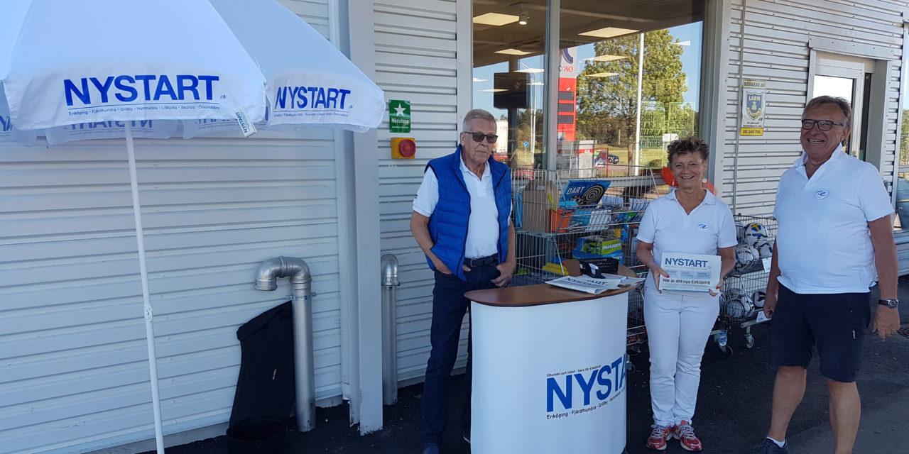 Nystarts kommunresa fortsätter – nu i Skolsta