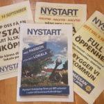 Läs Nystarts fjärde tidning och vår folder!